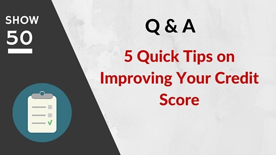 how to start improving credit score