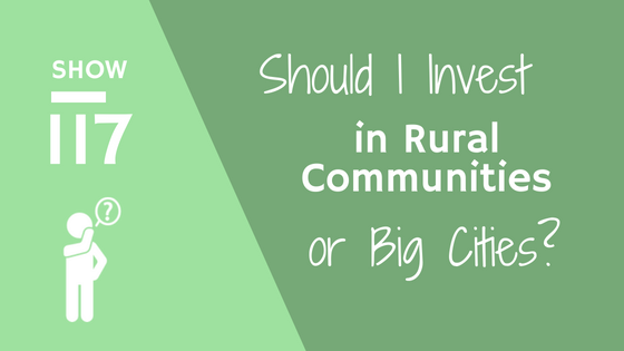 Should I invest in rural communities or big cities?