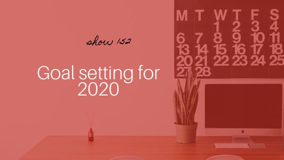 goal setting for 2020